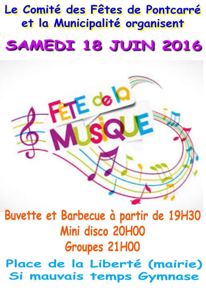 fete musique 2016