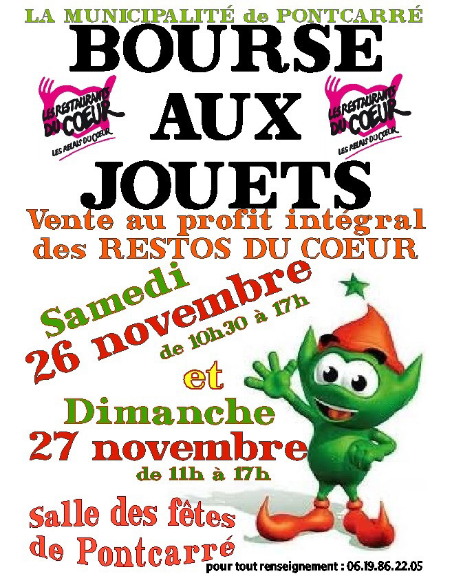 De Bourse Pontcarre JouetsMairie Aux KlcJ1F