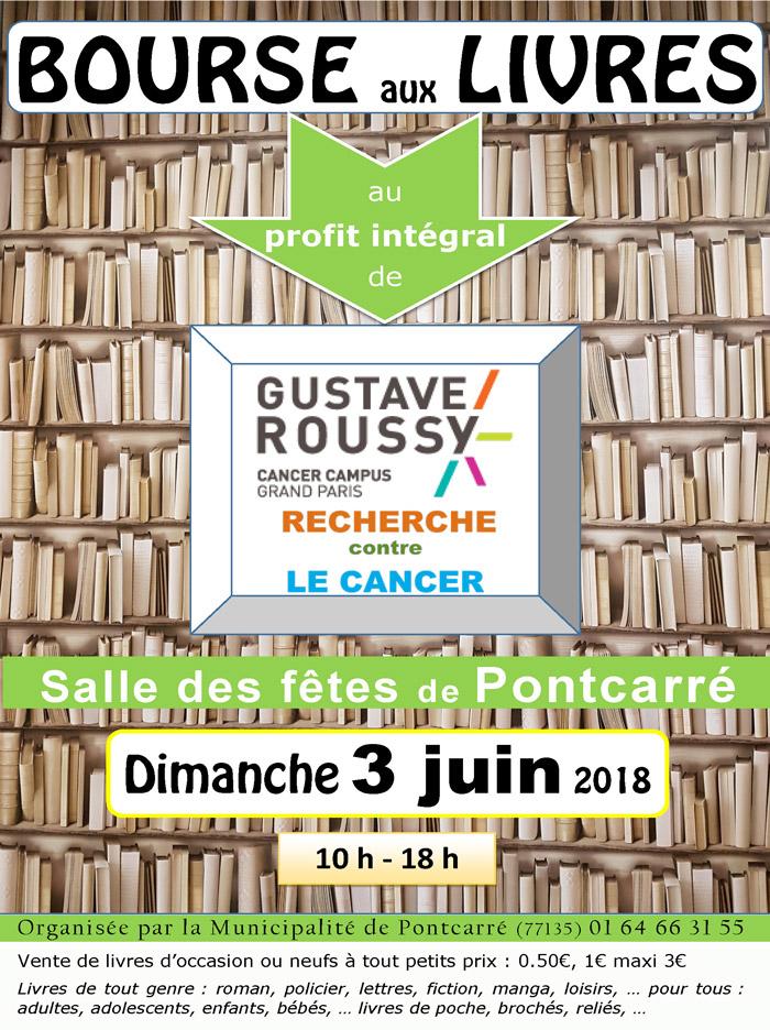 Bourse Aux Livres Dimanche 3 Juin 2018 Mairie De Pontcarre