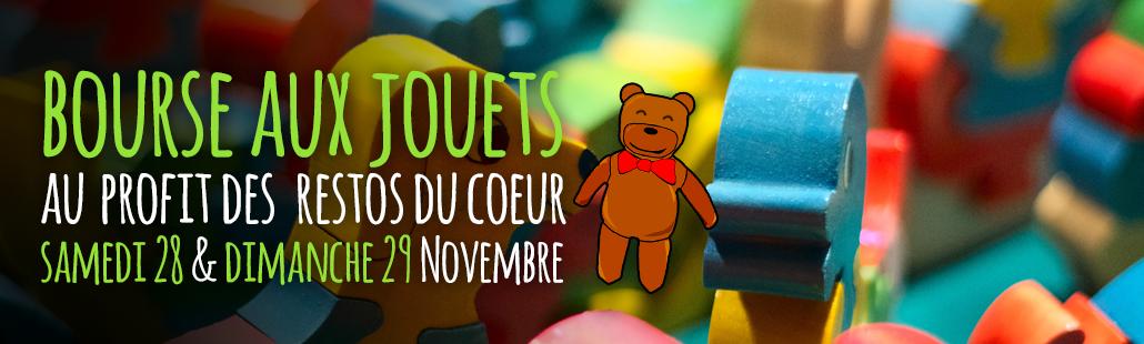 Bourse aux jouets – 28 & 29 Nov