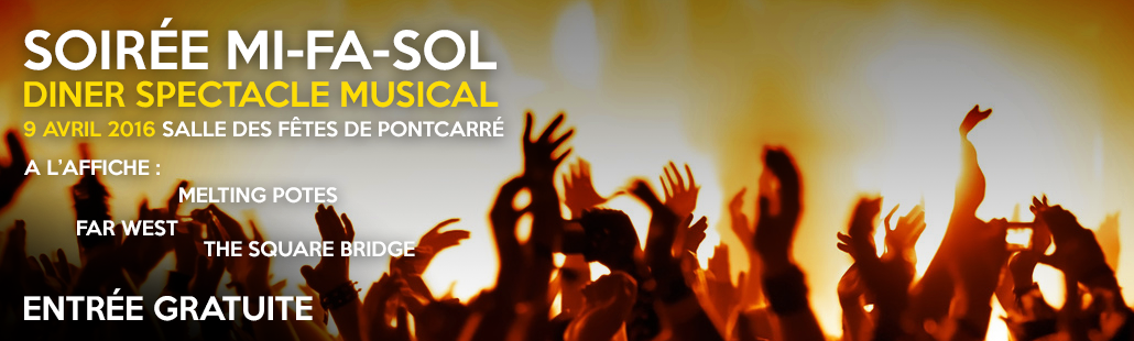 Soirée Mi Fa Sol – Concert – 9 avril 2016