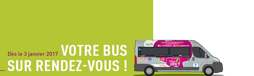 Votre bus sur rendez-vous !