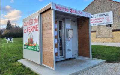 Des distributeurs automatiques de produits frais en Marne et Gondoire