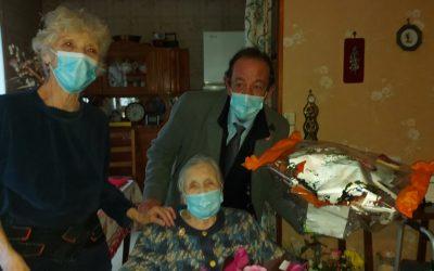La doyenne de Pontcarré a 101 ans aujourd'hui